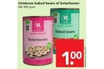 urtekram baked beans of boterbonen