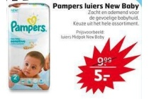 pampers luiers new baby
