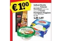 galbani ricotta paturain roomkaas of trentin parmigiano regganio