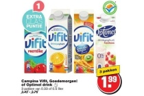campina vifit goedemorgen of optimel drink