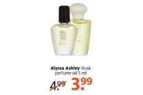 alyssa ashley musk perfume oil 5 ml