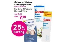 gehwol en wartner kalknagelpen 4ml