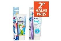 etos tandpasta en tandenborstels