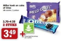 milka koek en cake of oreo