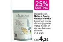 25 korting natur crops