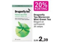 20 korting dragonfly tea moroccon mint green tea