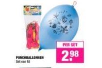 punchballonnen bigbazar