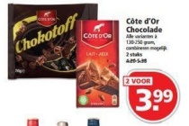 cote d or chocolade