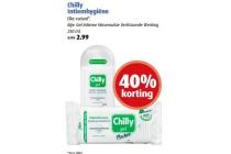 chilly intiemhygiene