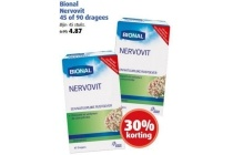 bional nervovit 45 of 90 dragees