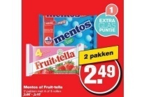 mentos of fruit tella