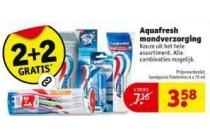 aquafresh mondverzorging