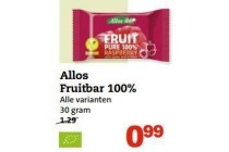 allos fruitbar 100