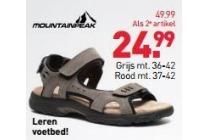 mountainpeak dames sandalen