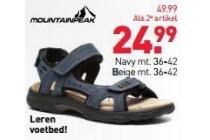 mountain peak dames sandalen