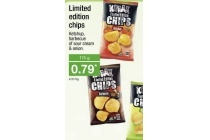 kraak limited edition chips