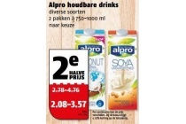 alpro houdbare drinks