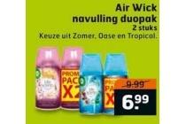 air wick navulling duopak