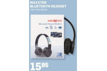 maxxter bluetooth headset