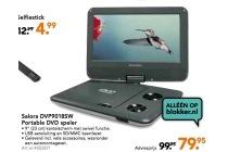 salora dvp9018sw portable dvd speler