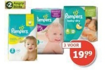 pampers luiers baby dry active fit new baby en baby dry pants