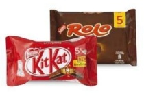 bros kitkat rolo nuts of lion