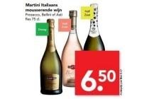 martini italiaans mousserende wijn