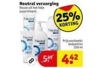 neutral verzorging