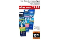 oral b opzetborstels multipak