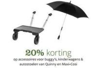 quinny en maxi cosi accessoires voor buggy s kinderwagens en autostoelen