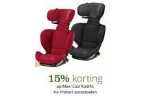 maxi cosi rodifix air protect autostoelen