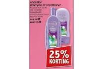 andrelon shampoo of conditioner