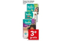 pampers luiers baby dry new baby of active fit