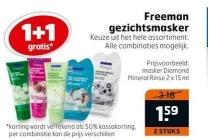 freeman gezichtsmasker