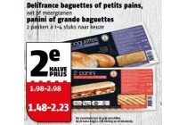 delifrance baguettes of petits pains panini of grande baguettes