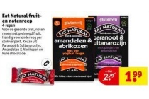 eat natural fruit en notenreep