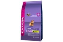 eukanuba puppy en junior small breed hondenvoer kip
