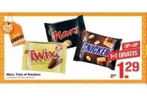 mars twix of snickers