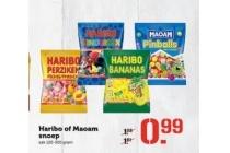 haribo of maoam snoep