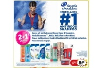 head en shoulders herbal essences wella wellaflex en new wave