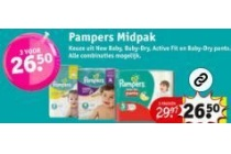 pampers midpak