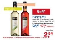 hardy s vr australiee chardonnay rose merlot of shiraz