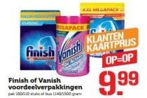 finish of vanish voordeelverpakkingen