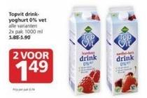 topfit drinkyoghurt 0 vet