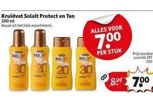kruitvat solait protect and tan
