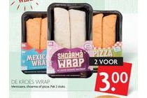 de kroes wrap