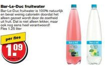 bar le duc fruitwater