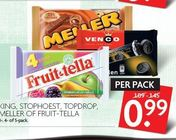 king stophoest topdrop meller of fruit tella