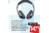 soundlogic bluetooth hoofdtelefoon