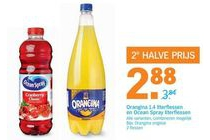 orangina 1 4 literflessen en ocean spray literflessen